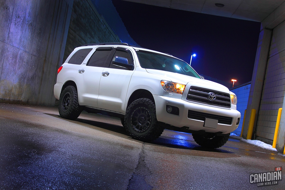 Lifted Toyota Sequoia