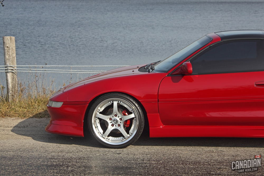 Crimson Red MR2