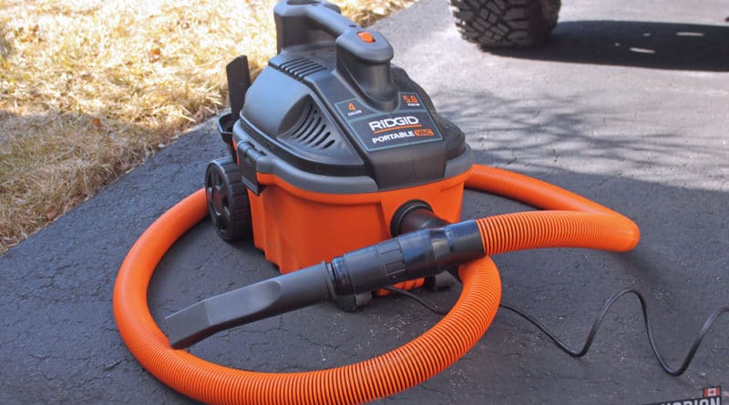 The Best Vacuum For Detailing Ridgid Wd4070 Review