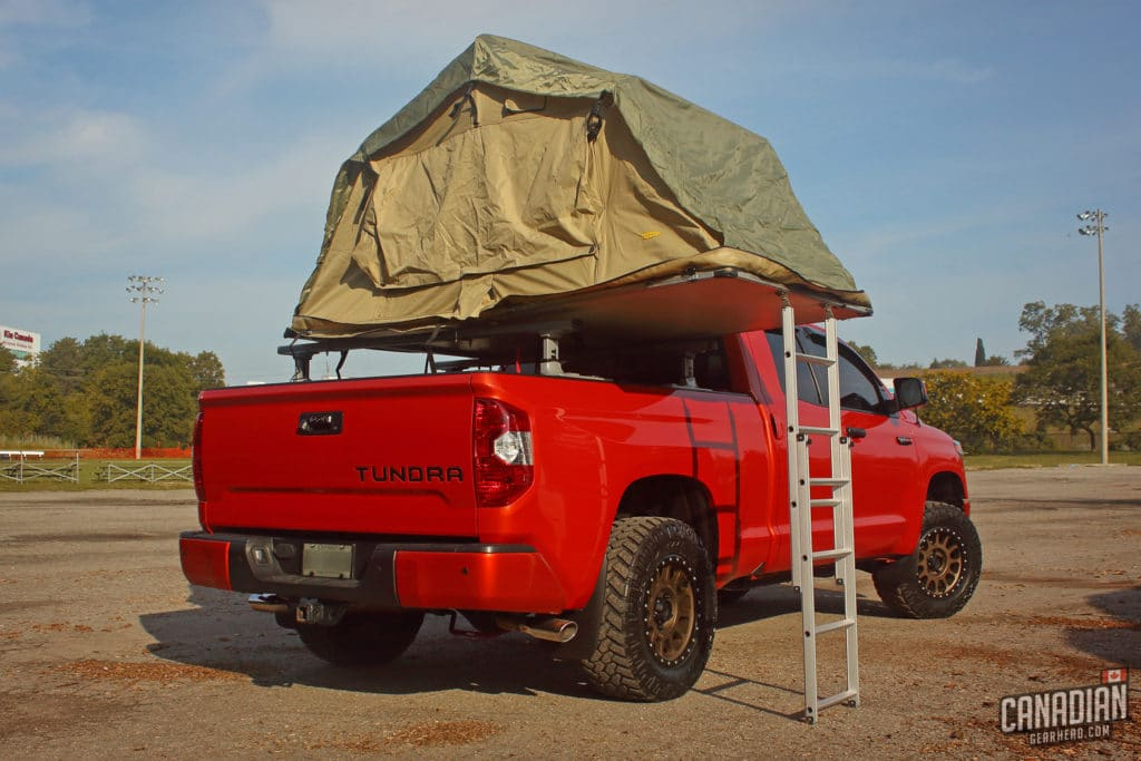 Toyota Tundra Rooftop Tent