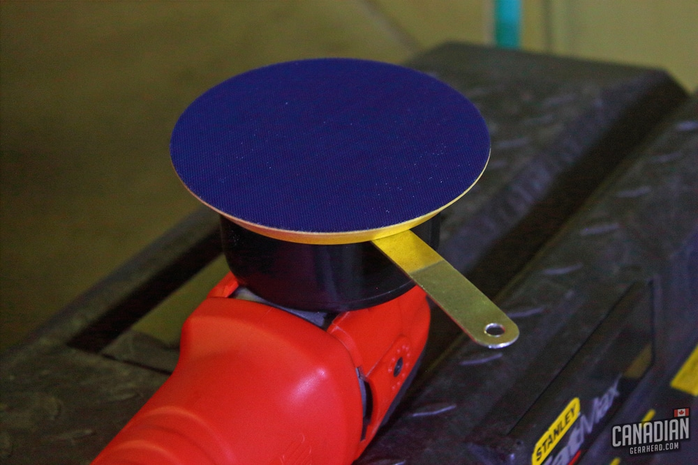 How to change backing plate on Griot's Garage polisher