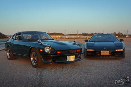 Acura NSX and Datsun 280Z Feature
