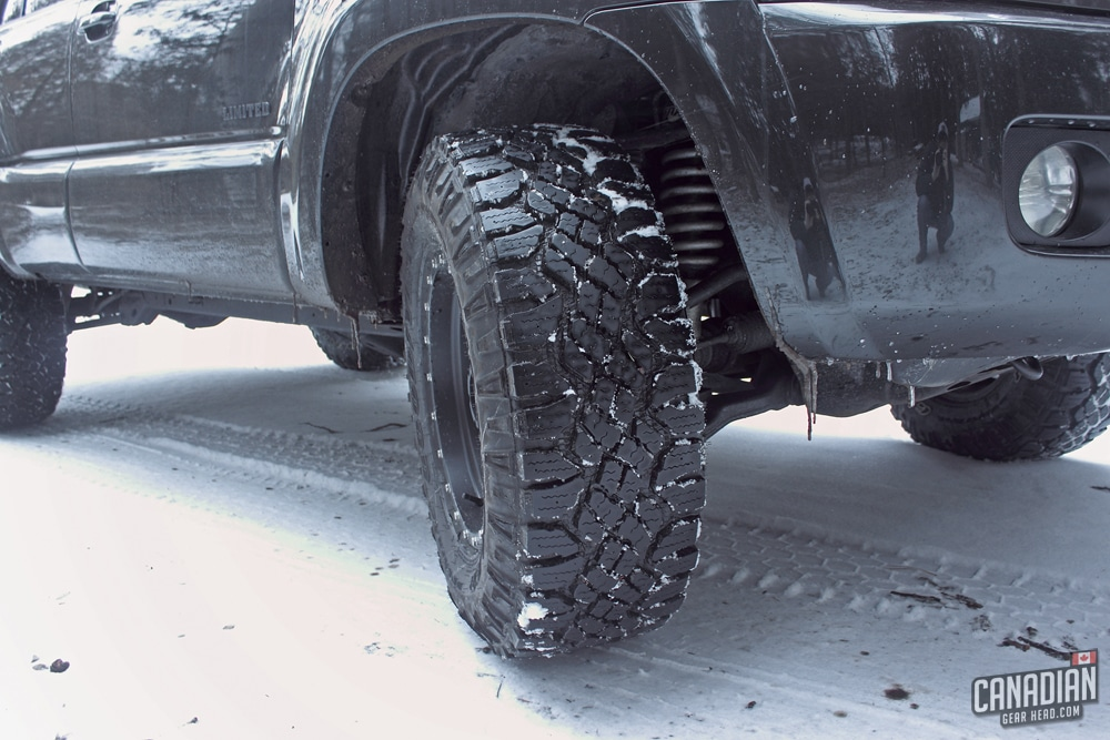 Why The Goodyear Duratrac is The Best Offroad Tire for Winter