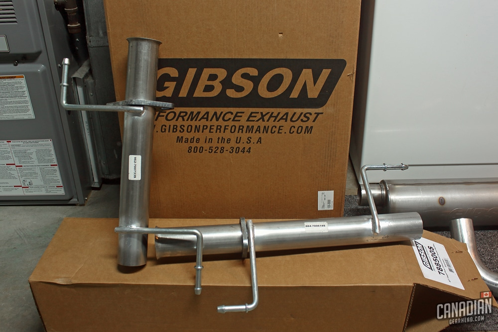 Gibson Stainless Cat-back Exhaust Review